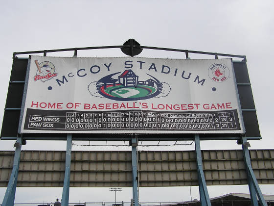 They are VERY proud of this at McCoy