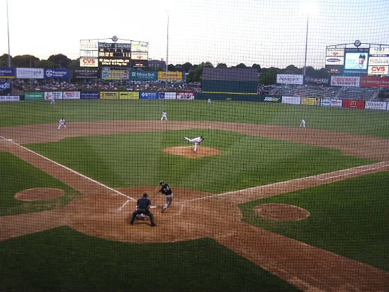 The Pitch, McCoy Stadium, Pawtucket, RI